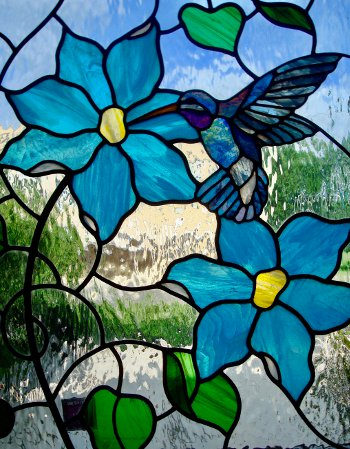 Custom Stained Glass Etched Glass Stained Glass Repair Carved